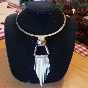 Jewelry - SEXY CHOKER (SILVER TONE)